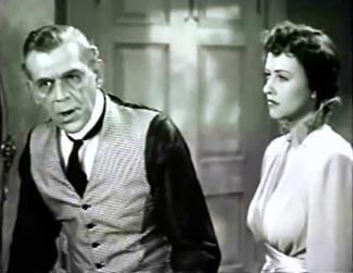 Boris Karloff, Margaret Lindsay.