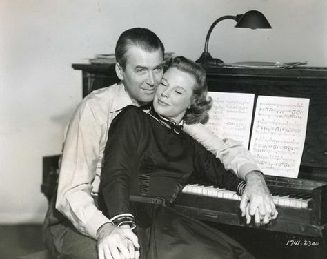 James Stewart,June Allyson. THE GLENN MILLER STORY