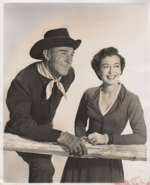 Randolph Scott,Gail Russell. SEVEN MEN FROM NOW