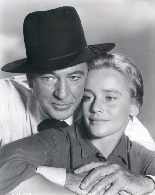 Gary Cooper,Maria Schell. THE HANGING TREE