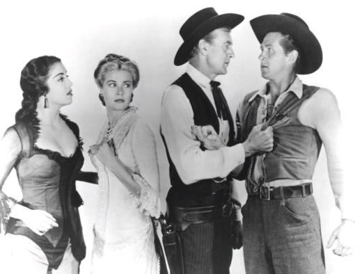 Katy Jurado,Grace Kelly, Gary Cooper,Lloyd Bridges. HIGH NOON