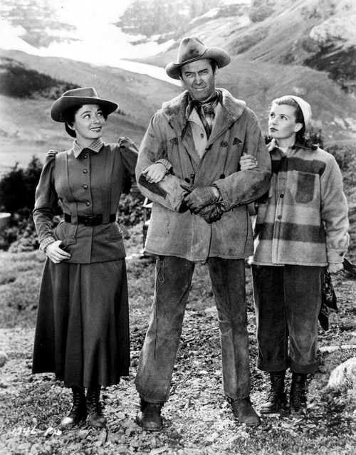 Ruth Roman,James Stewart,Corinne Calvet.