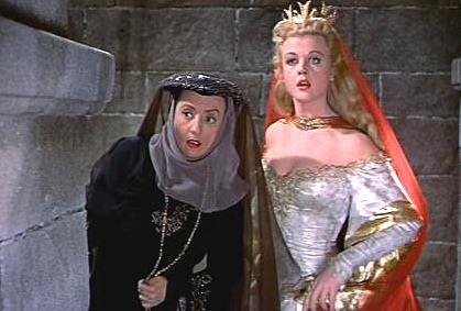 With MILDRED Natwick.THE COURT JESTER