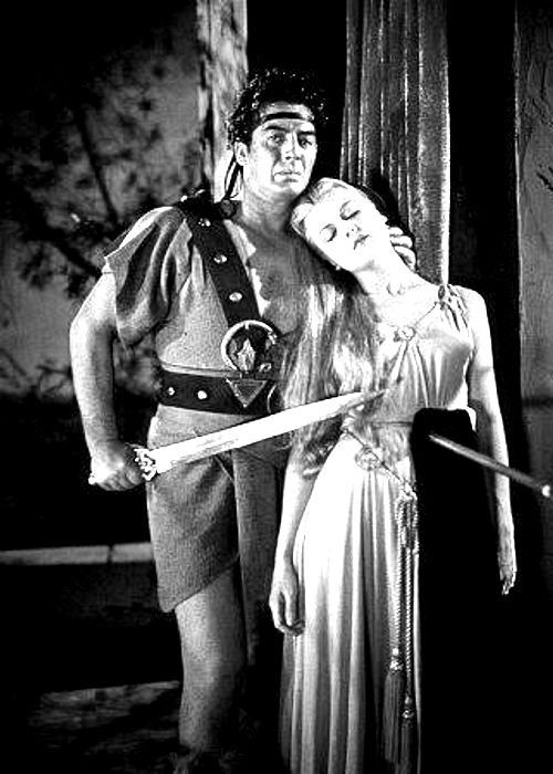 With Victor Mature. SAMSON AND DELILAH
