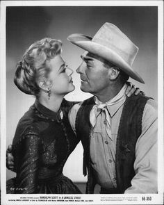 With Randolph Scott.THE LAWLESS STREET