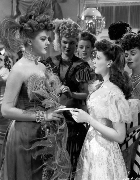 With Judy Garland.THE HARVEY GIRLS