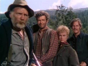 Millard Mitchell,Robert Ryan,Janet Leigh,Ralph Meeker. THE NAKED SPUR