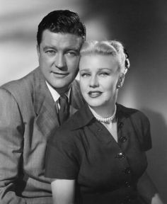 Dennis Morgan. Ginger Rogers