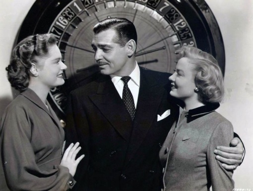 Alexis Smith, Clark Gable,Audrey Totter.ANY NUMBER CAN PLAY.
