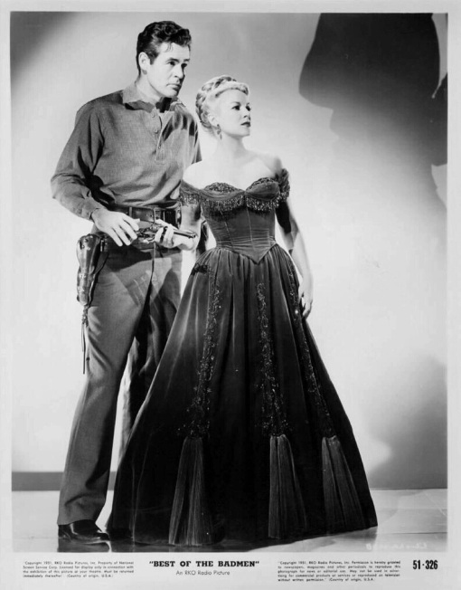 Robert Ryan,Claire Trevor.BEST OF THE BADMEN