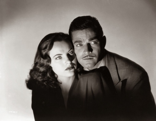 Ella Raines, Alan Curtis.PHANTOM LADY.