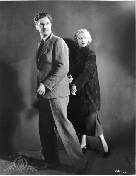 Robert Donat,Madeleine Carroll.THE THIRTY NINE STEPS.