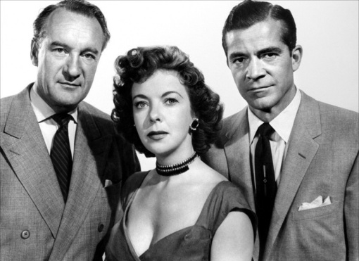 George Sanders,Ida Lupino,Dana Andrews. WHILE THE CITY SLEEPS