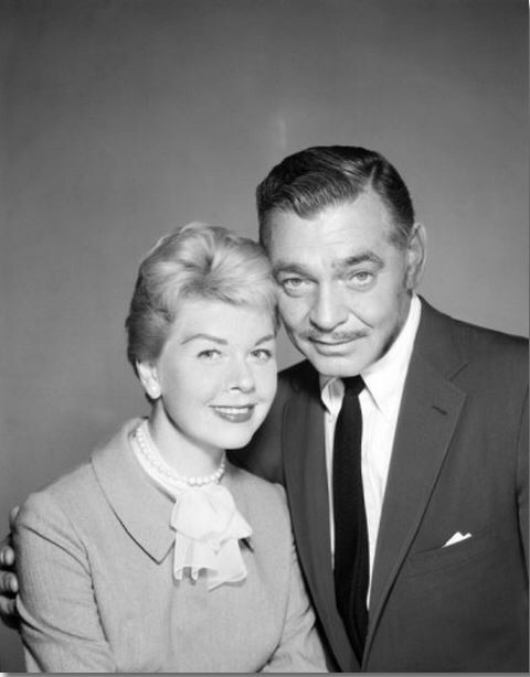 Doris Day, Clark Gable. TEACHER'S PET