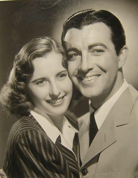 Barbara Stanwyck, Robert Taylor