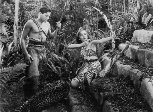 Herbert Marshall,Claudette Colbert. Four Frightened People
