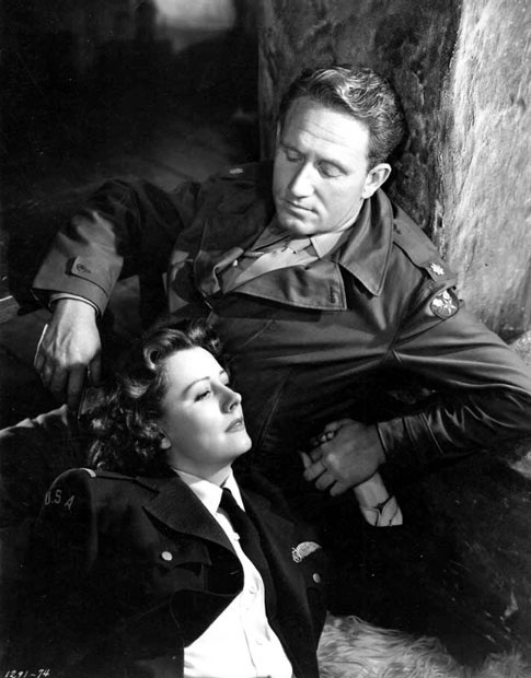 Irene Dunne,,Spencer Tracy
