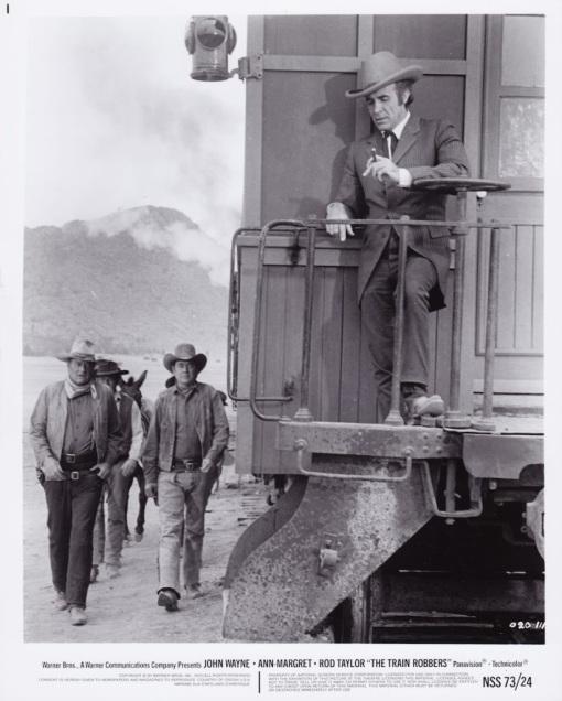 John Wayne, Ben Johnson, Ricardo Montalban