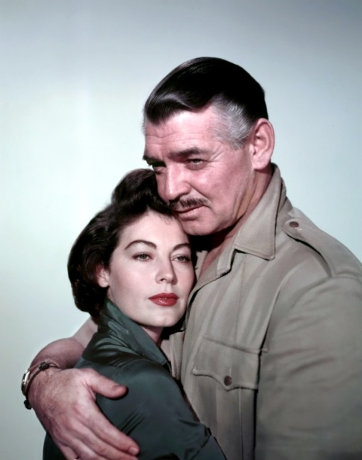 Ava Gardner, Clark Gable. MOGAMBO