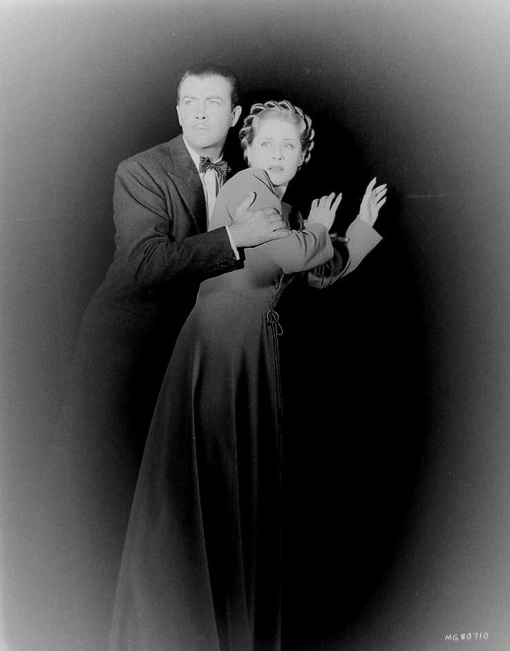 Robert Taylor, Norma Shearer. ESCAPE.