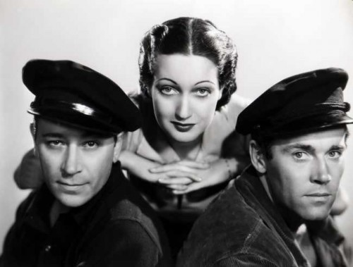 George Raft, Dorothy Lamour, Henry Fonda