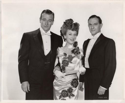 John Wayne, Ann D oral, Joseph Shildkraut