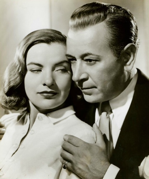 Ella Raines, George Raft