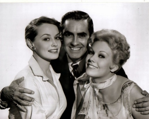 With Victoria Shaw,Tyrone Power.THE EDDY DUCHIN STORY.