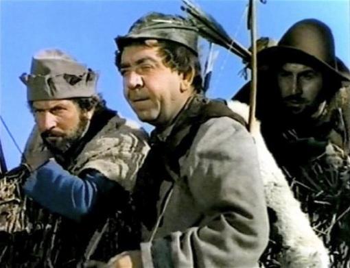 Herbert Mundin as 'Much'.THE ADVENTURES OF ROBIN HOOD
