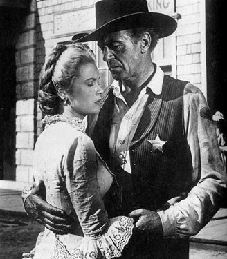 Grace Kelly,,Gary Cooper.HIGH NOON