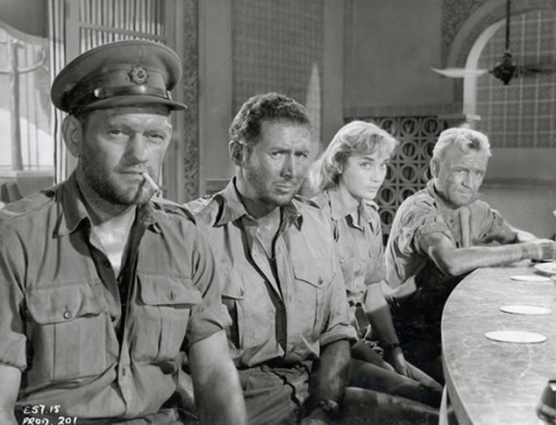 Harry Andrews,Anthony Quayle,Sylvia Sims, John Mills