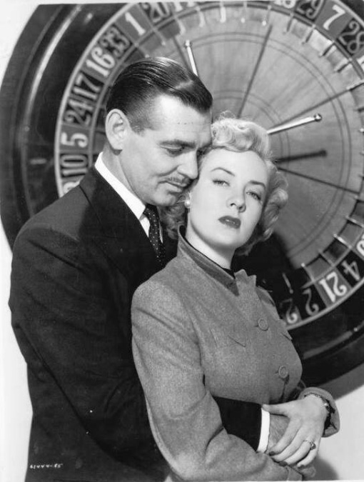 Clark Gable,Audrey Totter.ANY NUMBER CAN PLAY