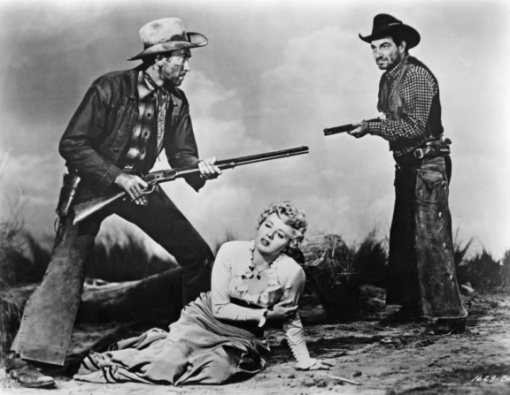 James Stewart,Shelley Winters,Stephen McNally.WINCHESTER 73