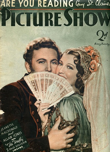 Allan Jones, Jeanette MacDonald.THE FIREFLY