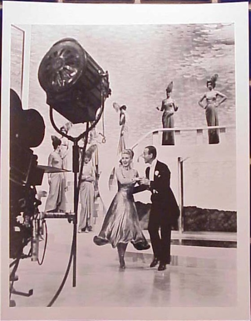 Astaire and Rogers.THE BARKLEYS OF BROADWAY