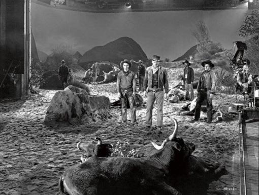 Montgomery Clift,John Wayne.RED RIVER