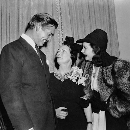Clark Gable, Margaret Mitchell, Vivien Leigh