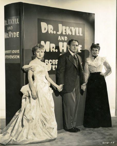 Lana Turner, Spencer Tracy,Ingrid Bergman. DR. JEKYLL AND MR HYDE