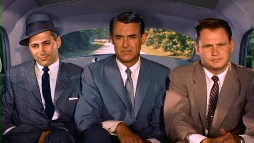 Robert Ellenstein,Cary Grant,Adam Williams.NORTH BY NORTHWEST