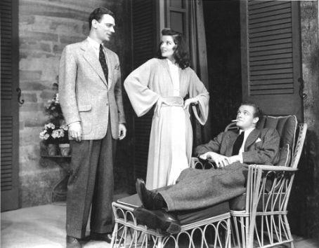 Joseph Cotten,Katharine Hepburn,Van Heflin