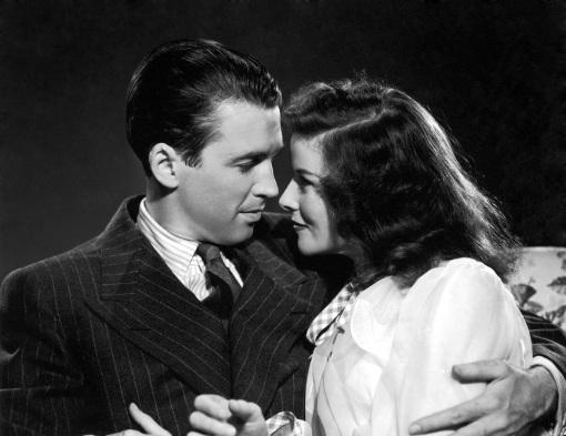 James Stewart,Katharine Hepburn