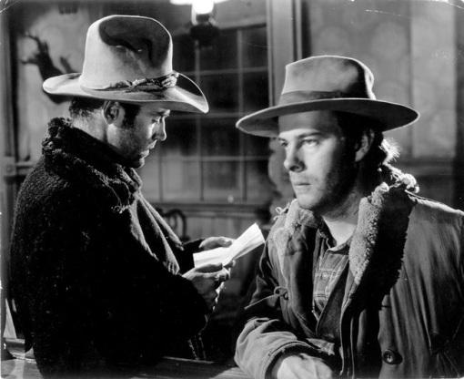 Henry Fonda, Harry Morgan.THE OX BOW INCIDENT
