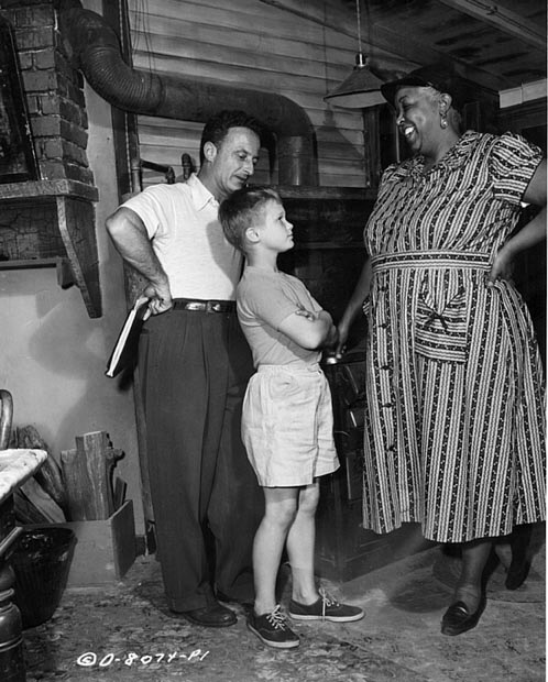 Fred Zinnemann,Brandon deWilde, Ethel Waters.MEMBER OF THE WEDDING