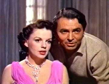 Judy Garland,James Mason. A STAR IS BORN