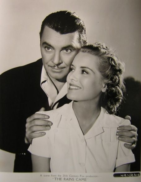 George Brent,     THE RAINS CAME