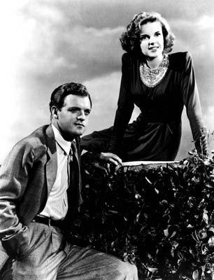 Van Heflin,Judy Garland.PRESENTING LILY MARS