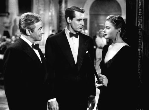 Claude Rains,Cary Grant,Ingrid Bergman.NOTORIOUS
