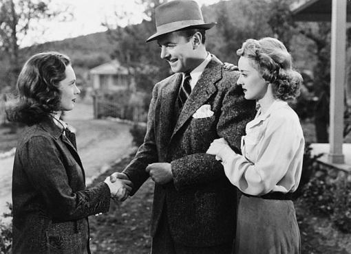 Geraldine Fitzgerald,George Brent,Bette Davis.DARK VICTORY