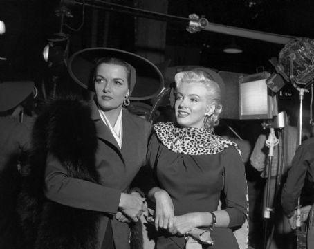 Jane Russell,Marilyn Monroe.GENTELMEN PREFER BLONDES