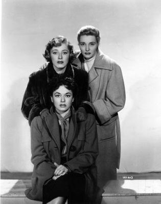 Eleanor Parker,Ruth Roman,Patricia Neal.THREE SECRETS
